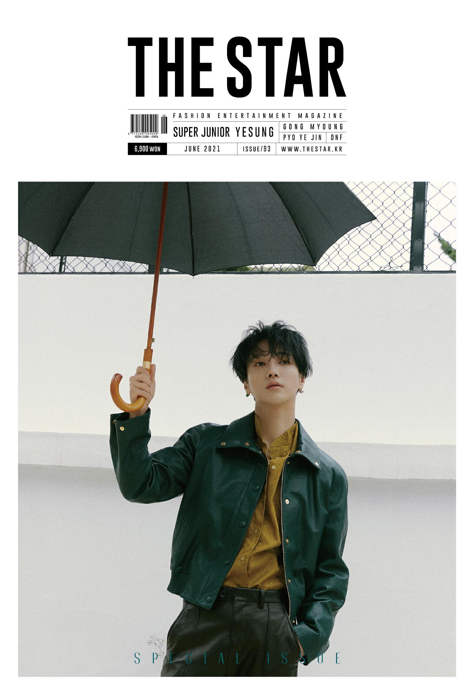 CD, 韓国(K-POP)・アジア 2021 6 THE STAR SUPER JUNIOR YESUNG Korean Magazine