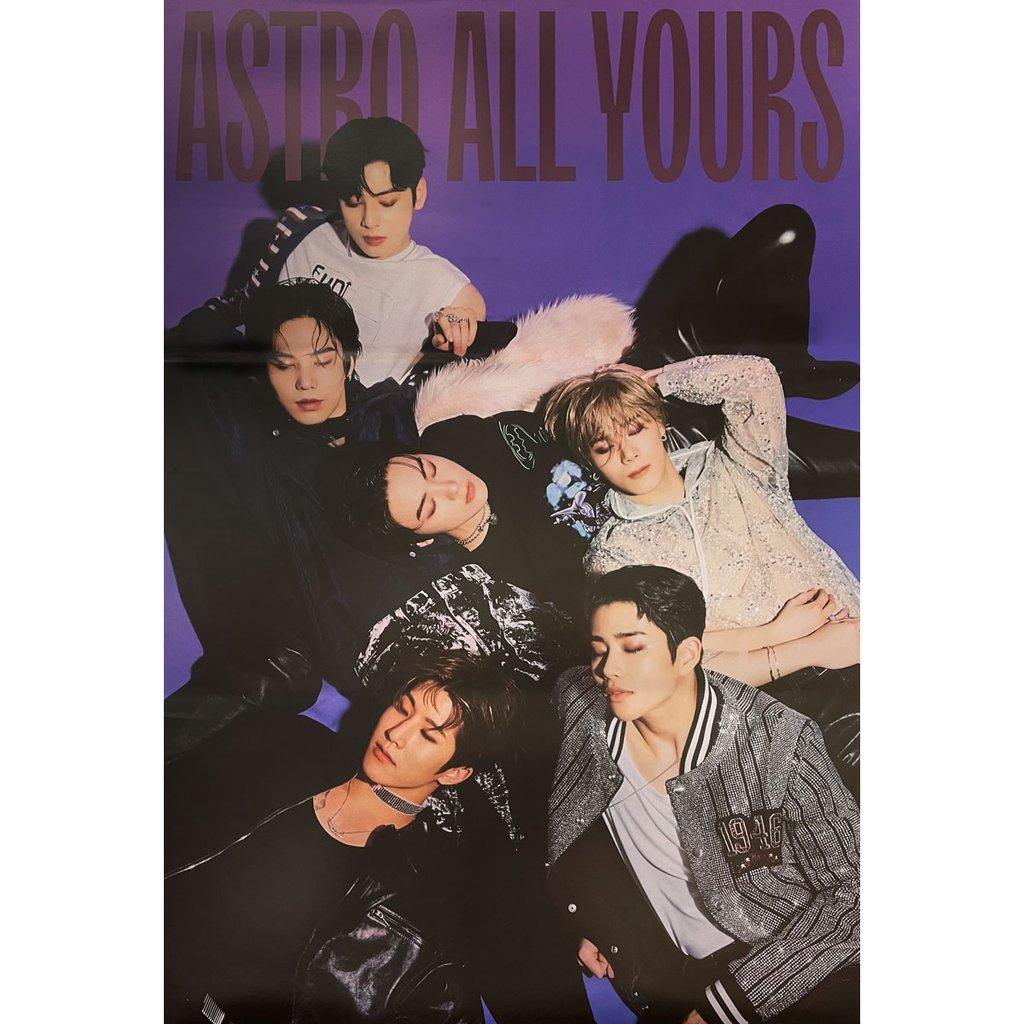 ミュージック, 韓国(K-POP)・アジア ASTRO 2ND ALBUM ALL YOURS (US VER.) POSTER