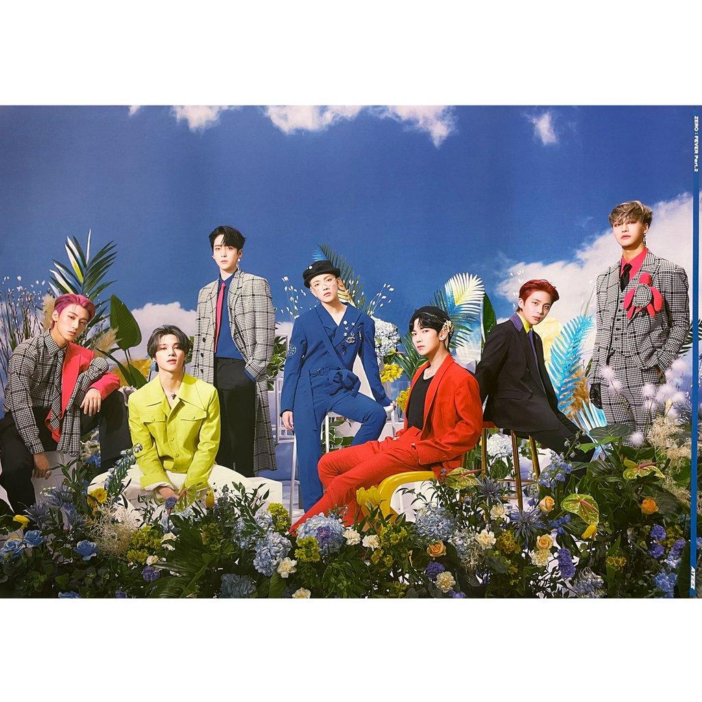 ミュージック, 韓国(K-POP)・アジア ATEEZ ZERO : FEVER PART. 2 (VER. Z) POSTER