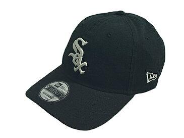 NEW ERA ニューエラMLB メジャーリーグ新作ストラップバックキャップ 帽子9TWENTY CORE CLASSIC REPLICACHICAGO WHITE SOXシカゴ ホワイトソックスGAME ブラック