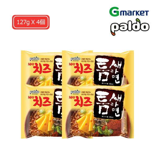 麺類, ラーメン PaldoPaldo cheddar cheese teumsae ramen127g X 4