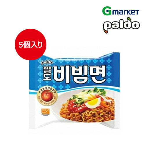 麺類, ラーメン PaldoPaldo Soupless ramen130gx5