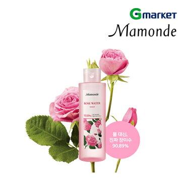 【Mamonde】【マモンド】ローズウォーター トナー/Rose Water Toner/250ml/トナー/拭き取り化粧水/バラ/韓国化粧品/化粧水/スキンケア/トーナー【楽天海外直送】