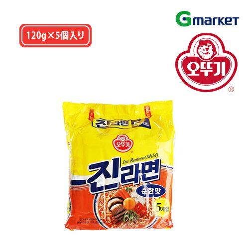 麺類, ラーメン OTTOGI ()Jin Ramen (Mild Taste)120g5()