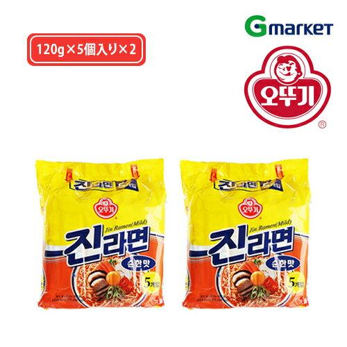 麺類, ラーメン OTTOGI ()Jin Ramen (Mild Taste)120g52()