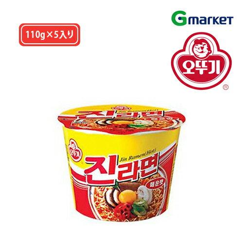 麺類, ラーメン OTTOGI Jin Ramen (Spicy)110g()