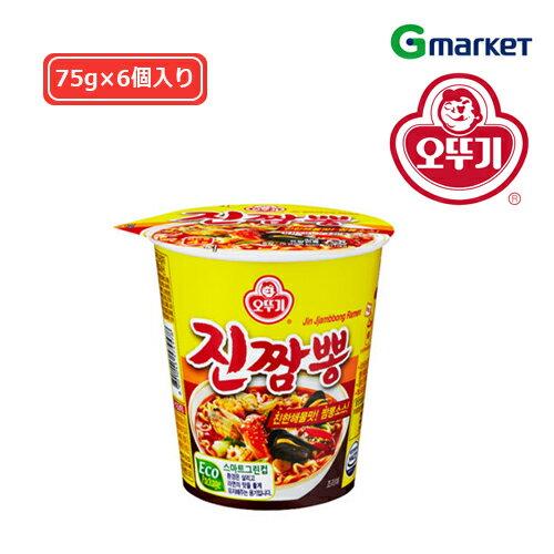 麺類, ラーメン OTTOGIJin Jjambbong Ramen Cup65g
