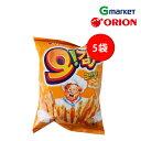 【ORION】【オリオン】オーガムジャ グラタン味/potato snack/50gx5袋/スナック/お菓子/おやつ/韓国食品/ポテト/ジャガイモ/ソース付き/オーガムジャ【楽天海外直送】