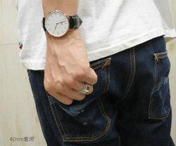 【レビューで\500分クオカードorギフト券付】ダニエルウェリントン40mmDanielWellington腕時計シェフィールドローズ40レディースメンズシルバーゴールド