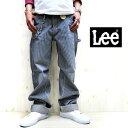 【定番人気商品☆】 Lee大定番の名作ワークラインシリーズ★MADE IN JAPAN仕様 Lee メンズ Dungarees ペインターパンツ【 リー 】 Color:504 ヒッコリーストライプユーズド加工 LM4288-504