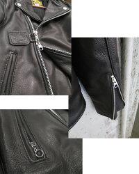 【日本別注】VANSONバンソンVANSONC2ライダースジャケット【ブラック】