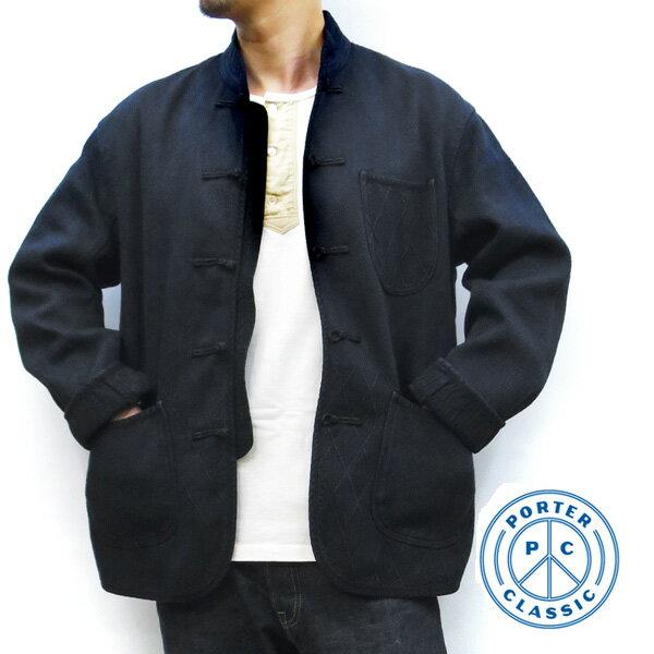 メンズファッション, コート・ジャケット 2020AW PORTER CLASSIC ( ) PC KENDO CHINESE JACKET ( ) PC-001-002-47