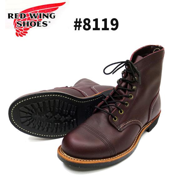 ブーツ, チャッカ SHOP8119 RED WING IRONRANGE Vibram 430 Mini Lug-Sole OXBLOOD Mesa D REDWING
