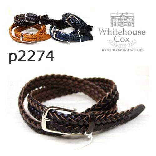 P1127より細い28mmメッシュベルトが登場Whitehouse Cox ホワイトハウスコックスP-2274 COW HIDE (...