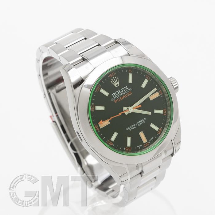 ロレックス ミルガウス 116400GV ブラック ROLEX 【新品】【メンズ】 【腕時計】  【あす楽_年中無休】