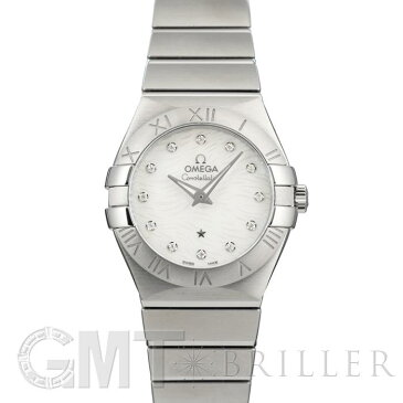 コンステレーション クォーツ 27MM 123.10.27.60.55.004 OMEGA 新品レディース 腕時計 送料無料