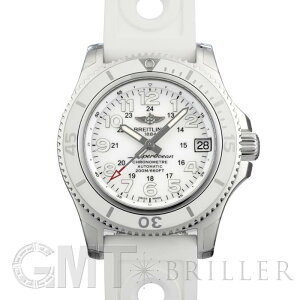 Breitling Super Ocean II 36 Hurricane White A162A75OPR BREITLING New Ladies Watch Free Shipping