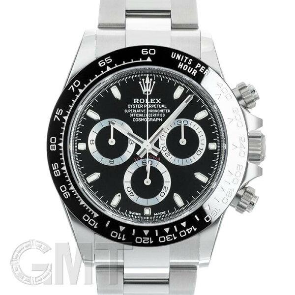 ロレックスデイトナ116500LNブラックROLEX新品メンズ腕時計