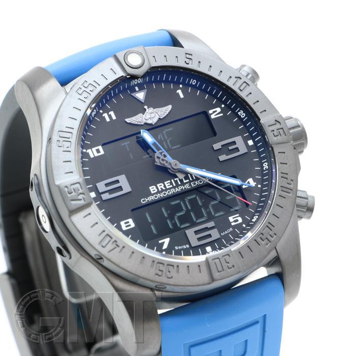 ブライトリングプロフェッショナルエクゾスペースB55ブルーラバーV510B45XRVBREITLING新品メンズ腕時計送料無料