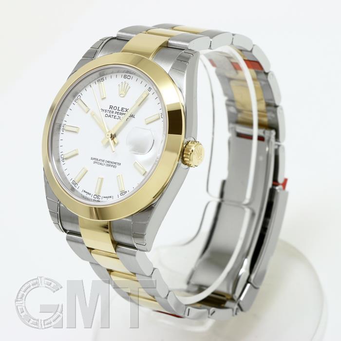 ロレックス デイトジャスト 126303 [オイスターブレスレット ホワイト] ROLEX 【新品】【メンズ】 【腕時計】  【あす楽_年中無休】