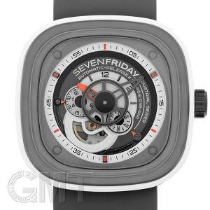 セブンフライデーSF-P3/0347mmブラック/ホワイト【新品】【メンズ】【腕時計】【送料無料】【_年中無休】