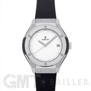 ウブロ クラシック フュージョン チタニウム オパリン 581.NX.2611.RX HUBLOT 新品レディース 腕時計 送料無料