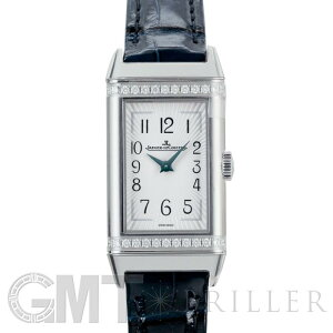 积家(Jaeger-LeCoultre)Reverso One Q3288420银质表圈钻石JAEGER LECOULTRE新款女士腕表免费送货