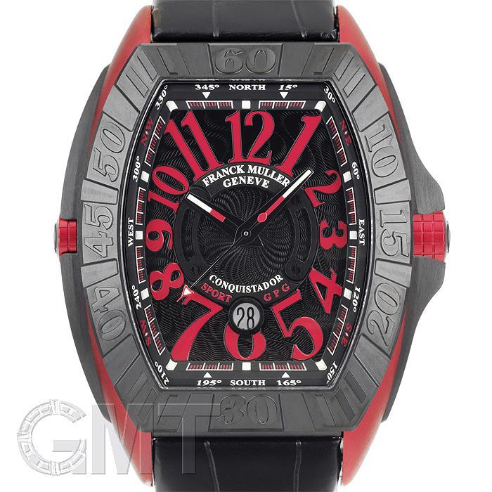 フランク・ミュラーコンキスタドールグランプリ9900SCDTGPGERGTI×レッドエルガFRANCKMULLER新品メンズ腕時計送料無料