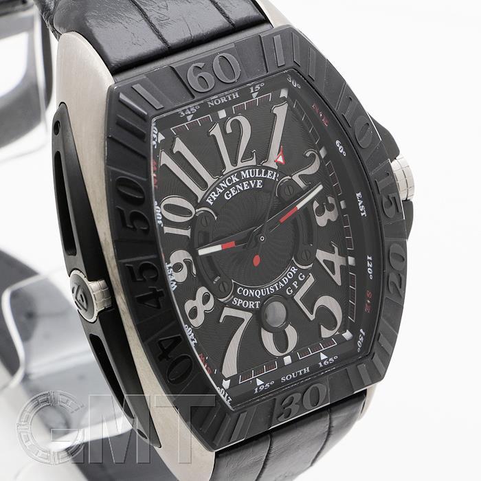フランクミュラー コンキスタドールグランプリ ブラック TI レザー 9900SC DT GPG FRANCK MULLER 【新品】【メンズ】 【腕時計】  【あす楽_年中無休】