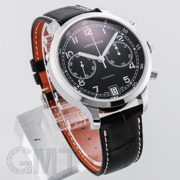 ロンジン ヘリテージ ミリタリー 1938 クロノグラフ L2.790.4.53.3 LONGINES 【新品】【メンズ】 【腕時計】  【あす楽_年中無休】