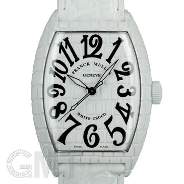 フランクミュラー トノーカーベックス ホワイトクロコ 7880 SC WHT CRO FRANCK MULLER 【新品】【メンズ】 【腕時計】 【送料無料】 【あす楽_年中無休】