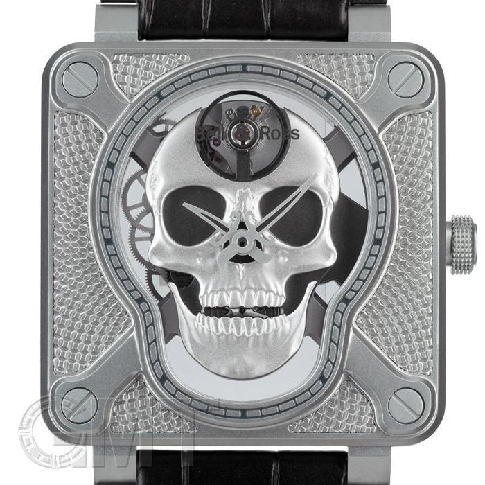 腕時計, メンズ腕時計  BR01-SKULL-SK-ST 500 BELL ROSS