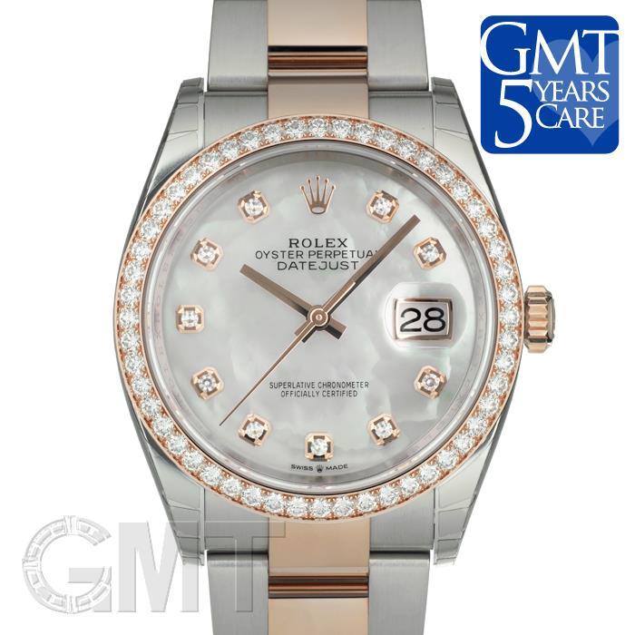 ロレックス デイトジャスト 36 126281RBR ホワイトMOP オイスターブレスレット ROLEX 【新品】【メンズ】 【腕時計】  【あす楽_年中無休】