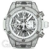 ウブロ ビッグバン ウニコ ホワイト パヴェ 42mm チタニウム 441.NE.2010.RW.1704 HUBLOT 新品メンズ 腕時計 送料無料