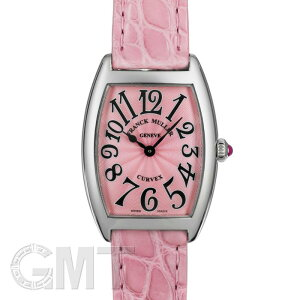 弗兰克·穆勒(Frank Muller)Tonneau Becks 1752BQZ Pink Pink Leather FRANCK MULLER New Ladies Watch免费送货