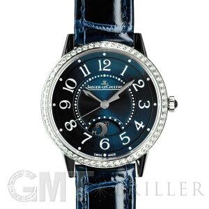 Jaeger Lecoultre Ночная и дневная голубая безель с бриллиантом Q3448480 * JAEGER LECOULTRE Новые женские часы Бесплатная доставка Открыт в течение всего года