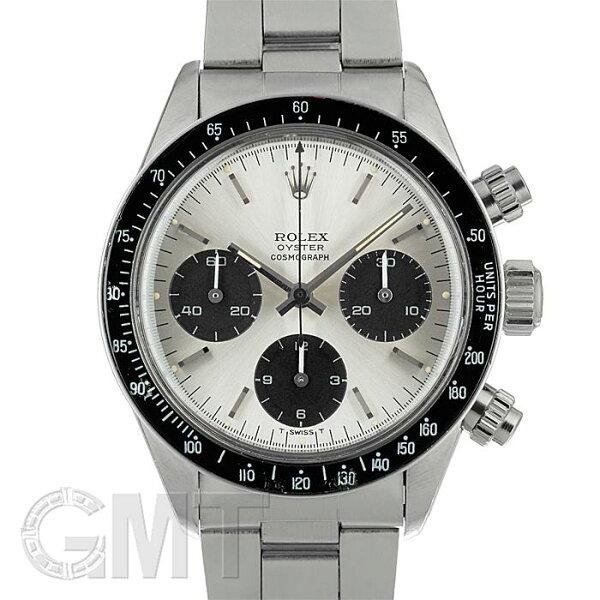 ロレックスデイトナ6263シルバーデイトナ表記無しMK1ローレターROLEX中古メンズ腕時計