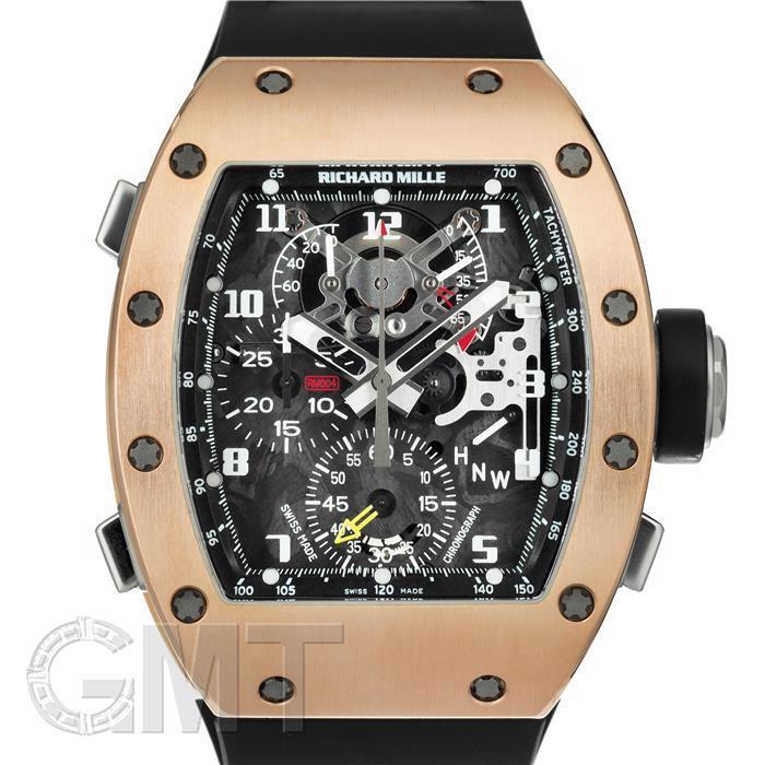 RICHARD MILLE リシャール ミル RM004 スプリットセコンド クロノグラフ ローズゴールド RICHARD MILLE 中古メンズ 腕時計 送料無料