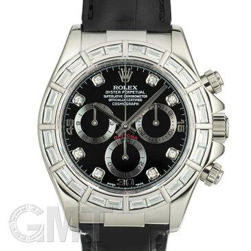ロレックス デイトナ 116589BRG バケットダイヤベゼル ブラック D番 ROLEX 中古メンズ 腕時計 送料無料