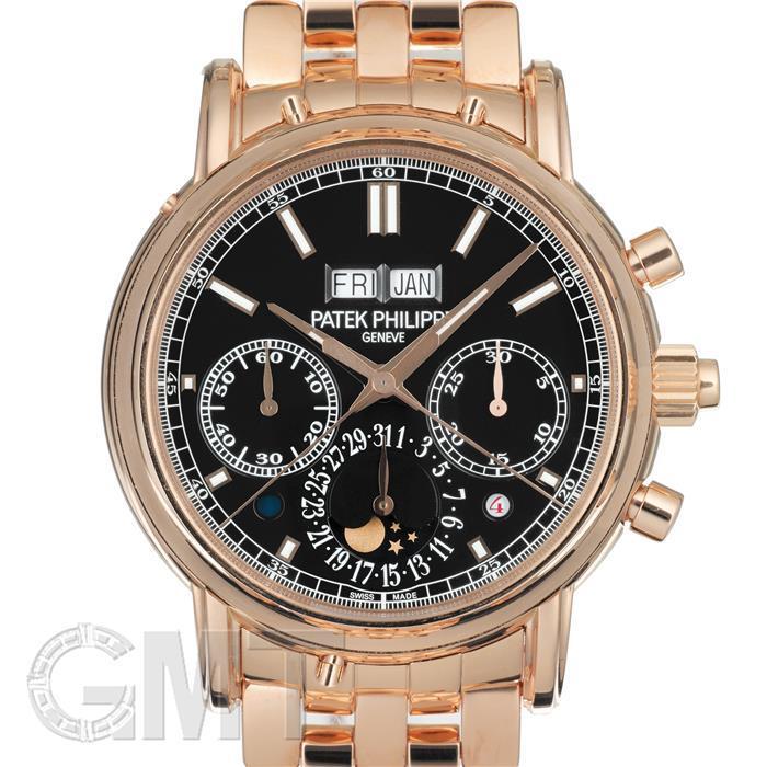 【未使用品】パテックフィリップ グランドコンプリケーション パーペチュアルカレンダー スプリットセコンドクロノグラフ 5204/1R-001 PATEK PHILIPPE 未使用品メンズ 腕時計 送料無料