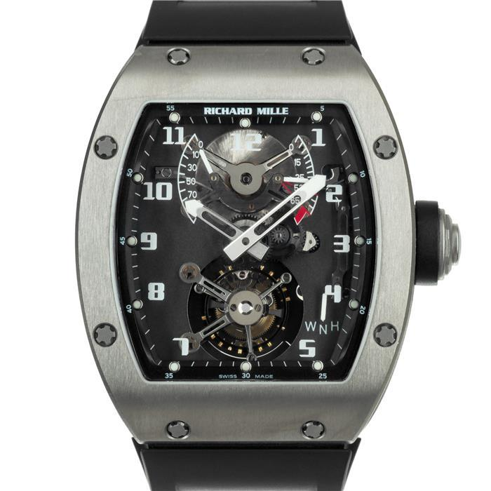 リシャール ミル トゥールビヨン RM002 Ver.1 Ti RICHARD MILLE 中古メンズ 腕時計 送料無料 _年中無休
