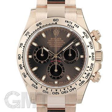 【未使用品/一部シール付き】ロレックス デイトナ 116505 ブラウン/ブラック ランダムシリアル ROLEX 未使用品メンズ 腕時計 送料無料