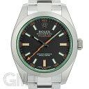 ロレックス ミルガウス 116400GV ブラック ランダムシリアル ROLEX 中古メンズ 腕時計 送料無料