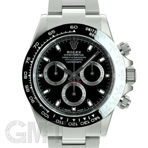 ロレックスデイトナ116500LNブラックランダムシリアルROLEX中古メンズ腕時計