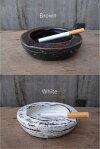 素焼き灰皿テラコッタアジアンバリ焼き物雑貨エスニックインテリア雑貨収納雑貨