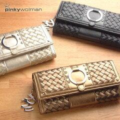 【送料無料】ピンキー&ダイアンの創立者pinky wolmanの限定メッシュ財布♪ レディース Ladies/...