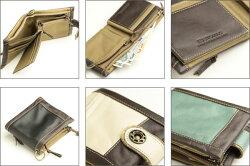 ESTOMAC(エストマ)本革二つ折り財布