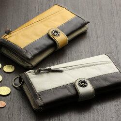 ESTOMAC(エストマ)本革長財布(小銭入れあり)