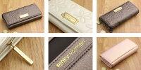 ピンキーウォルマン「フラワーベル」ピンキーウォルマン「フラワーベル」長財布(ファスナータイプ)長財布