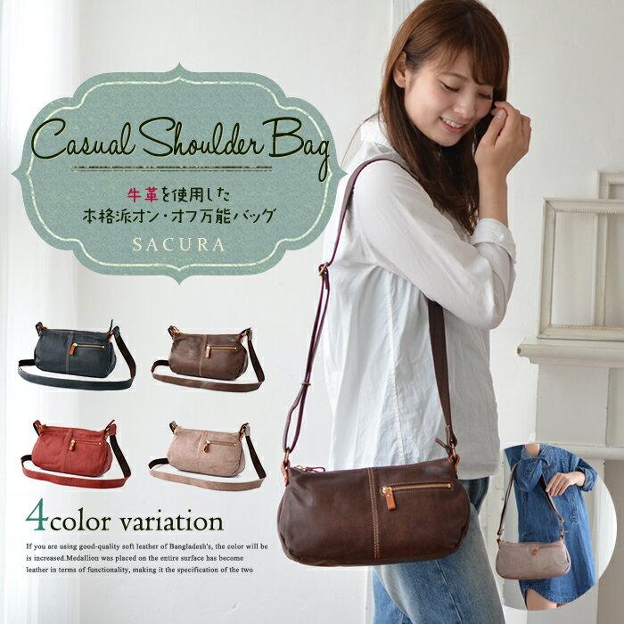 レディースバッグ, ショルダーバッグ・メッセンジャーバッグ SACURA MOLLIS bag ladies bag